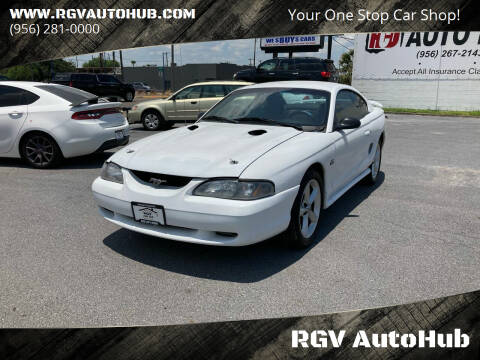 1995 Ford Mustang for sale at RGV AutoHub in Harlingen TX