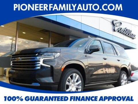 2021 Chevrolet Tahoe for sale at Pioneer Family auto in Marietta OH