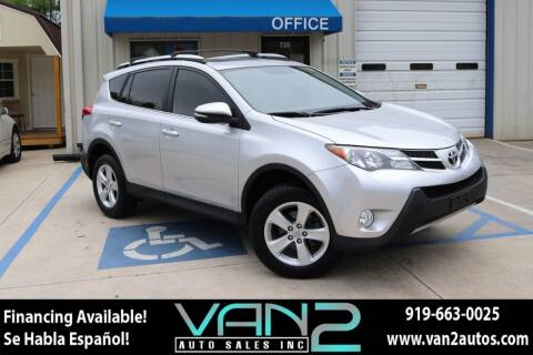 2013 Toyota RAV4 for sale at Van 2 Auto Sales Inc in Siler City NC
