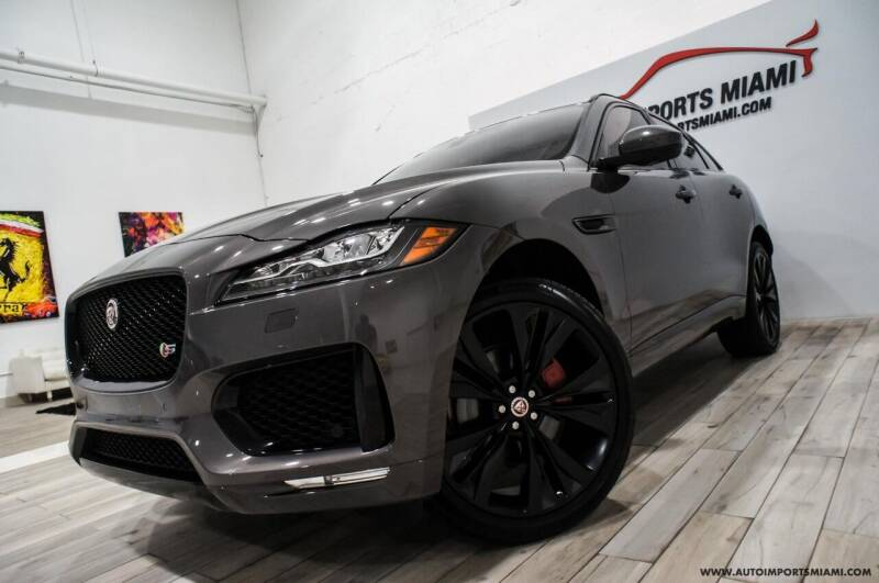 2017 Jaguar F-PACE for sale at AUTO IMPORTS MIAMI in Fort Lauderdale FL