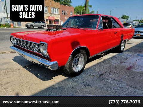 1966 Plymouth Satellite for sale at SAM'S AUTO SALES in Chicago IL
