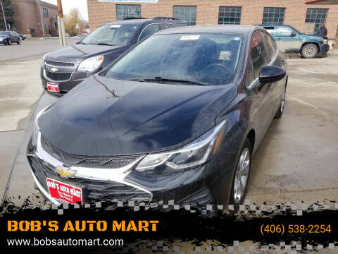 2019 Chevrolet Cruze for sale at BOB'S AUTO MART in Lewistown MT