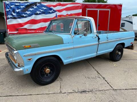 1969 Ford F-250 for sale at AutoSmart in Oswego IL