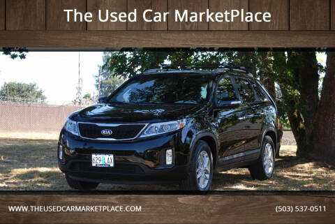 2014 Kia Sorento for sale at The Used Car MarketPlace in Newberg OR