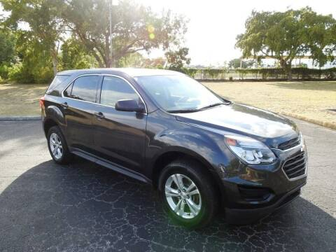 2016 Chevrolet Equinox for sale at SUPER DEAL MOTORS 441 in Hollywood FL