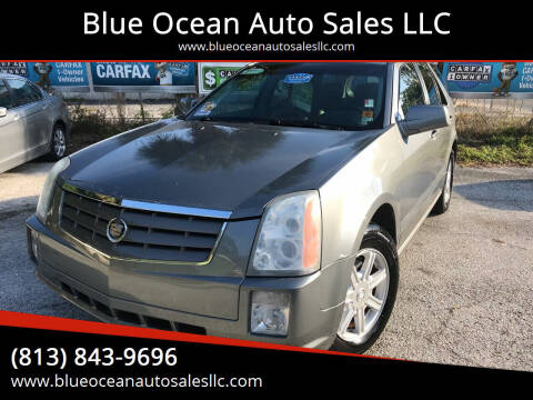 2004 Cadillac SRX for sale at Blue Ocean Auto Sales LLC in Tampa FL