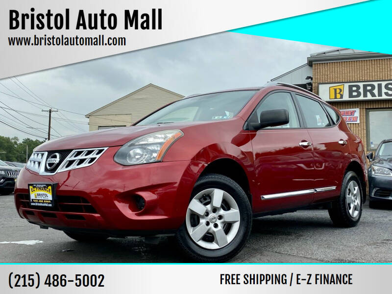 2015 Nissan Rogue Select for sale at Bristol Auto Mall in Levittown PA