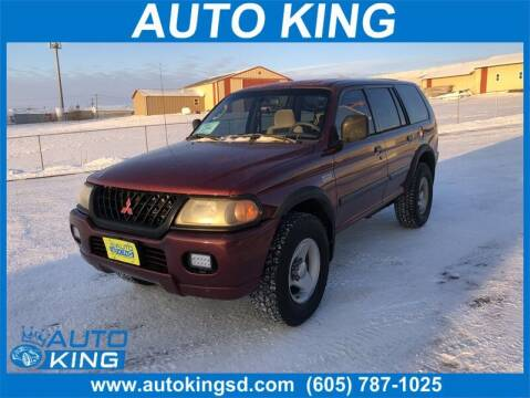2000 Mitsubishi Montero Sport for sale at Auto King in Rapid City SD