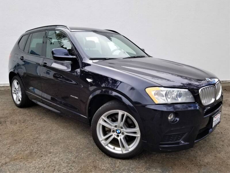 2014 BMW X3 for sale at Planet Cars in Berkeley CA