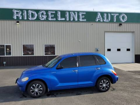 2005 Chrysler PT Cruiser for sale at RIDGELINE AUTO in Chubbuck ID