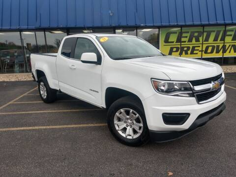 2018 Chevrolet Colorado for sale at CITY SELECT MOTORS in Galesburg IL