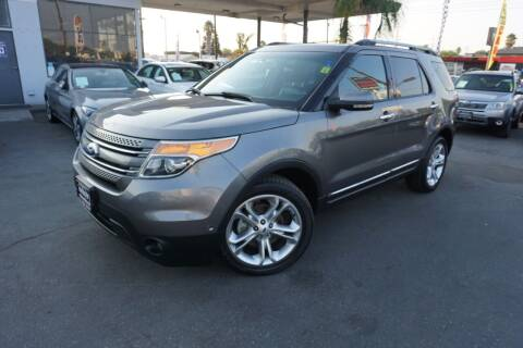 2012 Ford Explorer for sale at Industry Motors in Sacramento CA