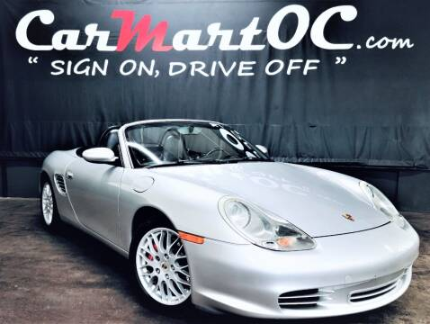 2004 Porsche Boxster for sale at CarMart OC in Costa Mesa, Orange County CA