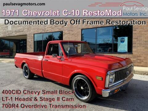 1971 Chevrolet C/K 10 Series for sale at Paul Sevag Motors Inc in West Chester PA