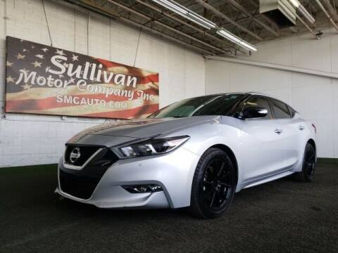 2018 Nissan Maxima for sale at SULLIVAN MOTOR COMPANY INC. in Mesa AZ