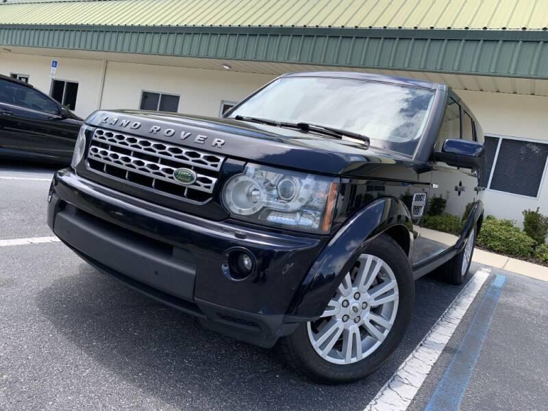 2010 Land Rover LR4 for sale at Fisher Motor Group LLC in Bradenton FL