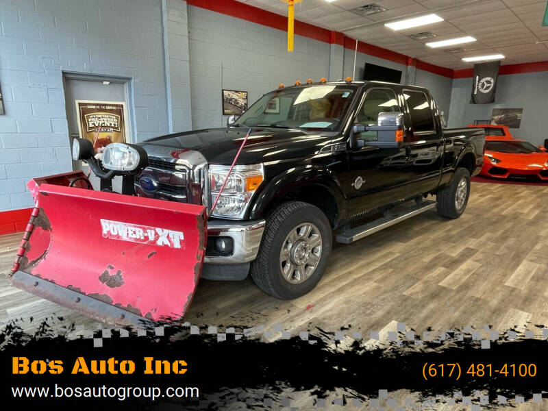 2013 Ford F-350 Super Duty for sale at Bos Auto Inc in Quincy MA