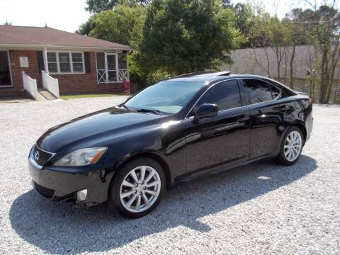 2008 Lexus IS 250 for sale at Carolina Auto Connection & Motorsports in Spartanburg SC