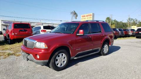 2003 Lincoln Aviator for sale at TOMI AUTOS, LLC in Panama City FL