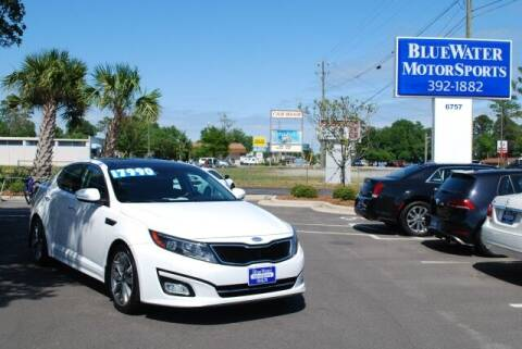 2014 Kia Optima for sale at BlueWater MotorSports in Wilmington NC