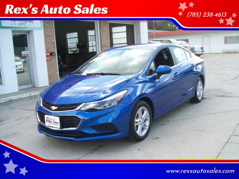 2018 Chevrolet Cruze for sale at Rex's Auto Sales in Junction City KS