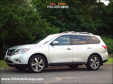 2014 Nissan Pathfinder for sale at M2 Auto Group Llc. EAST BRUNSWICK in East Brunswick NJ