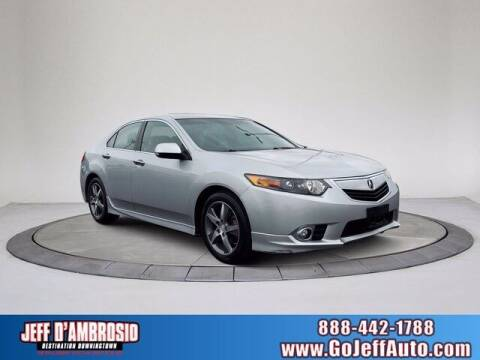2012 Acura TSX for sale at Jeff D'Ambrosio Auto Group in Downingtown PA