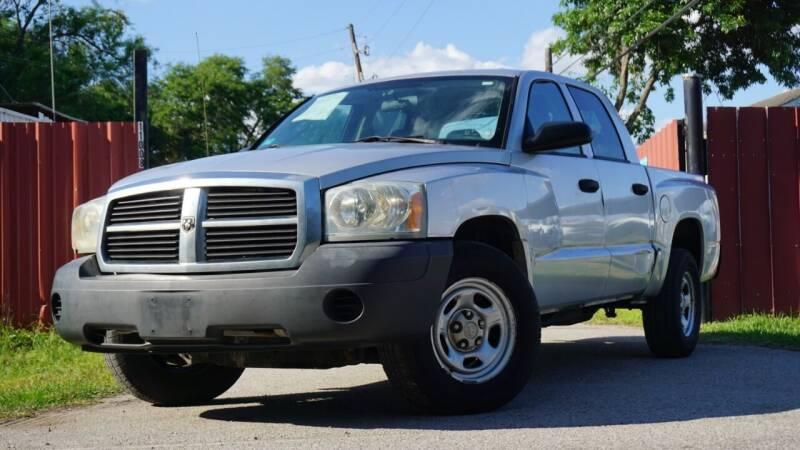 2007 Dodge Dakota for sale at Hidalgo Motors Co in Houston TX