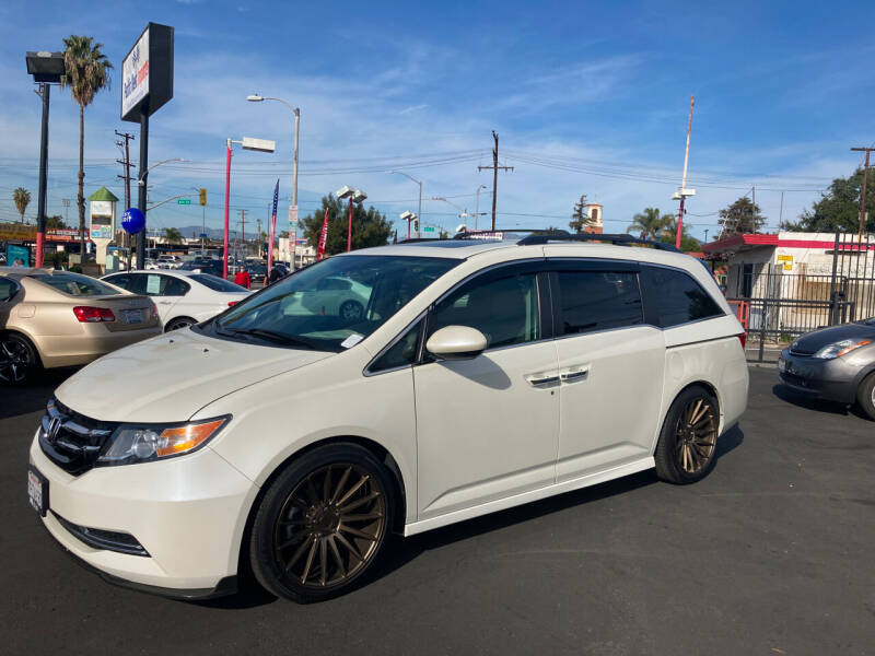 2016 Honda Odyssey for sale at Pacific West Imports in Los Angeles CA