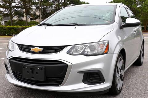 2017 Chevrolet Sonic for sale at Prime Auto Sales LLC in Virginia Beach VA