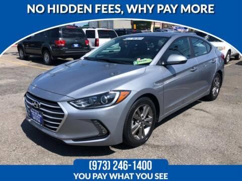 2017 Hyundai Elantra for sale at Route 46 Auto Sales Inc in Lodi NJ