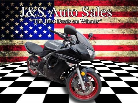 2008 Kawasaki Ninja 650R for sale at J & S Auto Sales in Clarksville TN