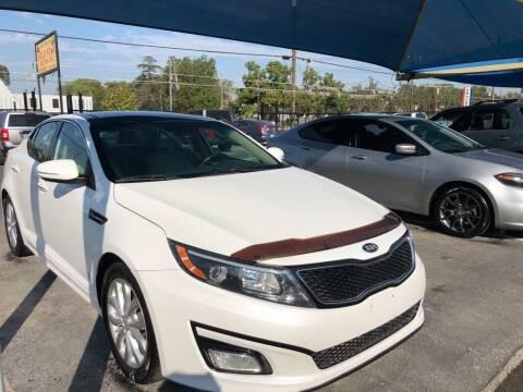 2015 Kia Optima for sale at Gold Star Motors Inc. in San Antonio TX