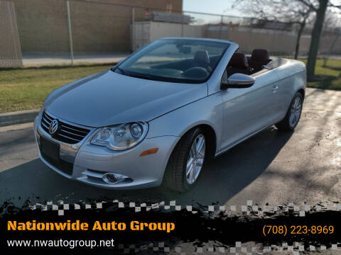 2011 Volkswagen Eos for sale at Nationwide Auto Group in Melrose Park IL