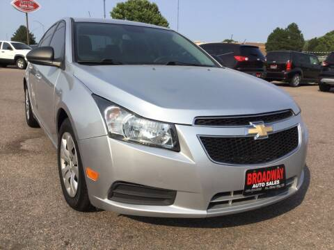 2013 Chevrolet Cruze for sale at Broadway Auto Sales in South Sioux City NE