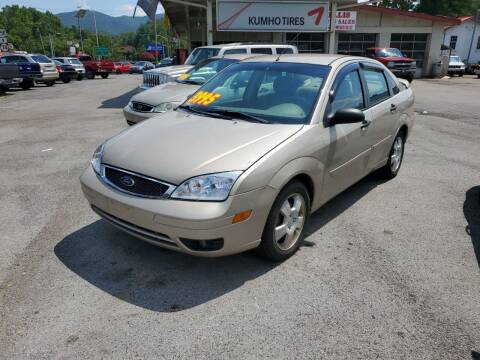 2006 Ford Focus for sale at Ellis Auto Sales and Service in Middlesboro KY