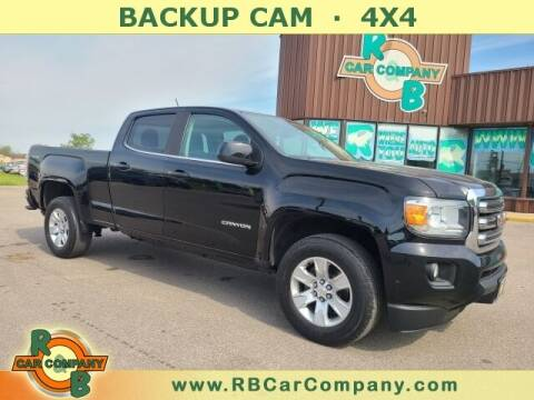 2017 GMC Canyon for sale at R & B Car Co in Warsaw IN
