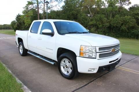2012 Chevrolet Silverado 1500 for sale at Clear Lake Auto World in League City TX