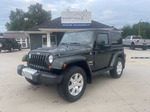 2012 Jeep Wrangler for sale at Maryville Auto Sales in Maryville TN