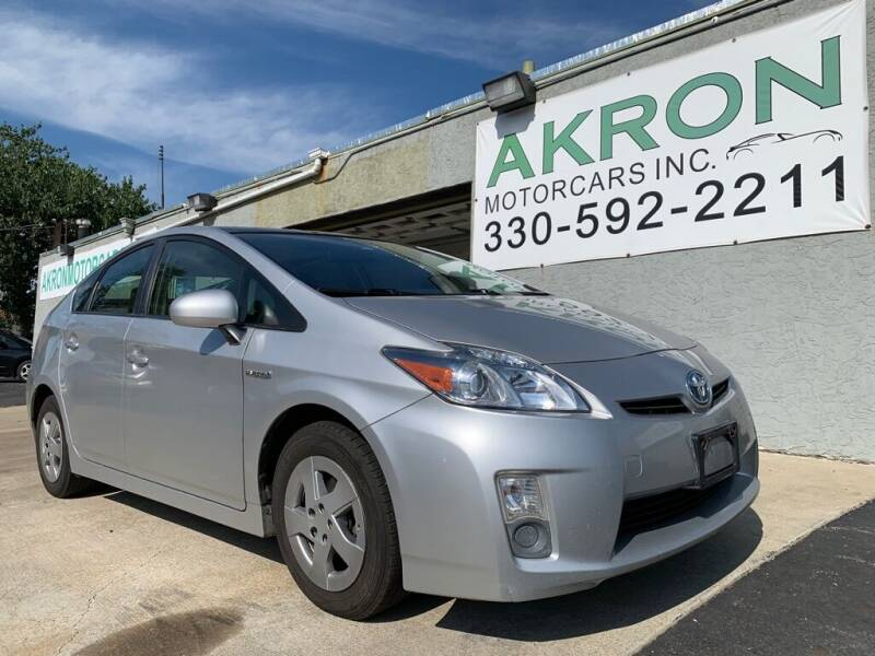 2010 Toyota Prius for sale at Akron Motorcars Inc. in Akron OH