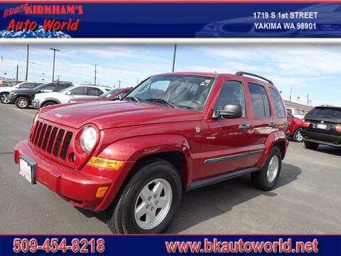 2007 Jeep Liberty for sale at Bruce Kirkham Auto World in Yakima WA