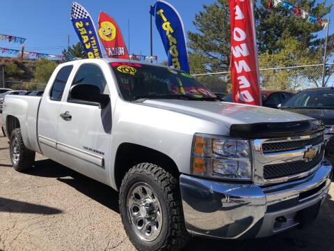 2012 Chevrolet Silverado 1500 for sale at Duke City Auto LLC in Gallup NM