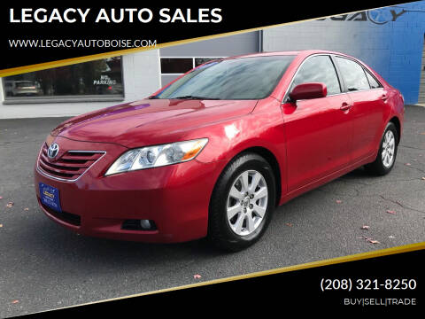 2009 Toyota Camry for sale at LEGACY AUTO SALES in Boise ID