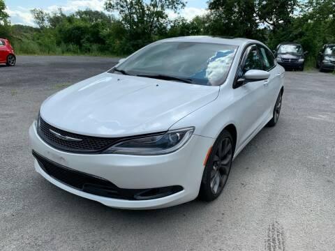 2015 Chrysler 200 for sale at Route 30 Jumbo Lot in Fonda NY