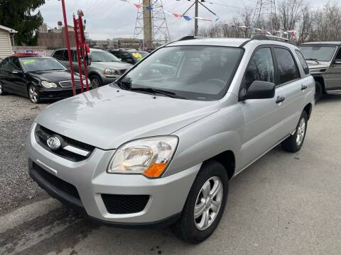 2009 Kia Sportage for sale at Trocci's Auto Sales in West Pittsburg PA