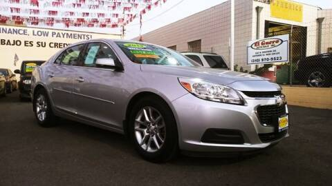 2014 Chevrolet Malibu for sale at El Guero Auto Sale in Hawthorne CA
