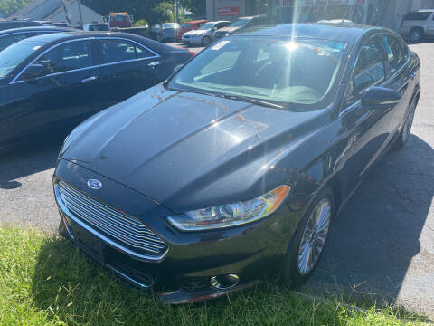 2015 Ford Fusion for sale at Right Place Auto Sales in Indianapolis IN