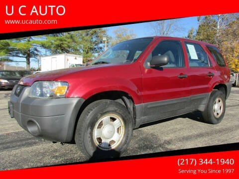 2006 Ford Escape for sale at U C AUTO in Urbana IL