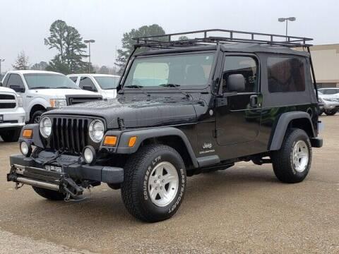 2004 Jeep Wrangler for sale at Tyler Car  & Truck Center in Tyler TX