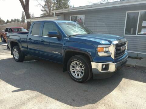 2015 GMC Sierra 1500 for sale at Winwood Auto Sales in Farwell MI